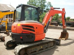 2013 Kubota U48-4, Manual Q-hitch, Piped for hammer, 2,350 hours Image