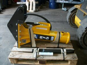 Arrowhead R75, 3CX, 6-8 Ton JCB Bracket, Can be ordered to suit your machine Image
