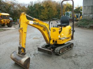 SOLD - 2005 JCB Micro, Expanding Undercarriage, Piped for Hammer - SOLD Image