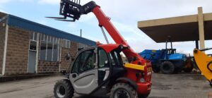 SOLD - 2017 Manitou MT625H Comfort, 55.4 kw Kubota engine,Air con, 2 x Speed hydrostatic transmission, Joystick, 4 Wheel drive, 4 Wheel steer, 3rd Service, 2718 hours, Very nice condition. Please note this is the bigger engine model with A/C. - SOLD Image