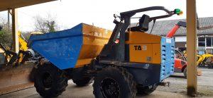 2010 Terex TA9, 9 ton Dumper, Green beacon system, Good tyres, 2760 hours, Nice dumper Image