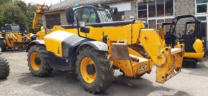 2014 JCB 535-125, Turbo, Sway, A/C,Rear view camera, 3600 hours Image