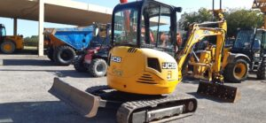 SOLD - 2012 JCB 8030,Manual Quick hitch,Buckets,Piped for attachments,Nice machine,2370 hours - SOLD Image