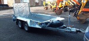 Ifor Williams GH94BT Plant trailer, Led lights, Spare wheel, Ideal mini digger trailer Image