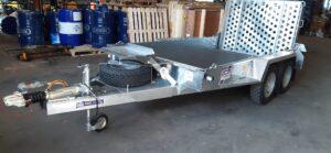 New GH1054BT,3500KG Plant trailer, Led lights, Spare wheel Image
